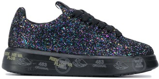 Premiata Belle glittered sneakers