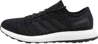 adidas Mens PureBOOST Neutral Running Shoes Core Black/Dark Grey Heather Solid Grey/Core Black