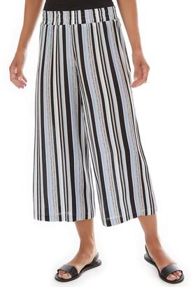 Apt. 9 Women's Gauze Pull-On Crop Pants