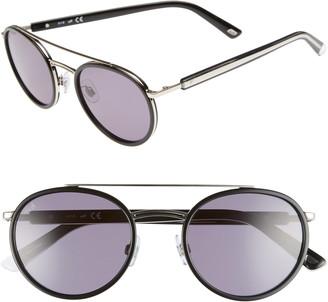 Web 52mm Aviator Sunglasses