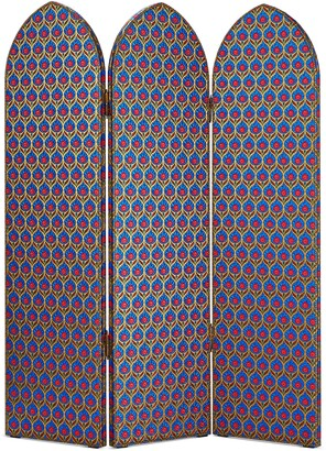 Gucci Lame jacquard three panel screen
