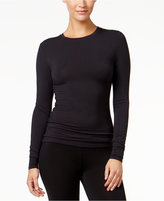Cuddl Duds Softwear Stretch Long Sleeve Crew Shirt
