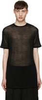 Thamanyah Black Sheer T-Shirt