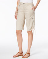 Style&Co. Style & Co Ruched Bermuda Shorts, Created for Macy's