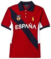 Ralph Lauren Red Spain Polo