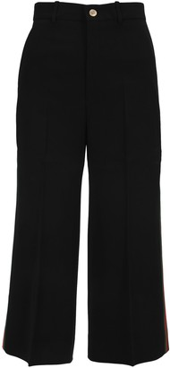 Gucci Side Stripe Wide Leg Pants