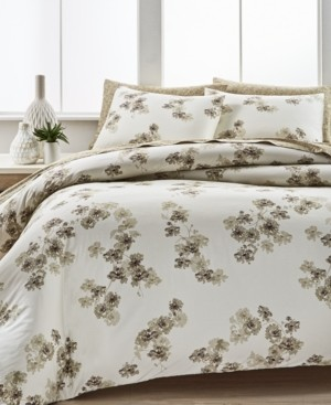 Calvin Klein Sandstorm Flora King Comforter Set Bedding