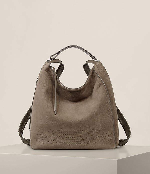 AllSaints Cooper Leather Large Backpack