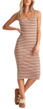 Billabong Juniors' Night Magic Striped Midi Dress