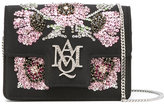 Alexander McQueen Insignia crossbody bag - women - Polyester/metal/glass - One Size