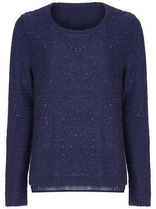 Yumi Sparkly Jumper With Lining