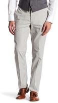 Bonobos Foundation Grey Plaid Regular Fit Double-Pleated Cotton Trouser - 32-34 Inseam