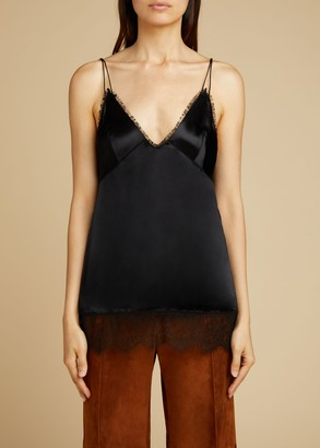 KHAITE The Emi Tank in Black