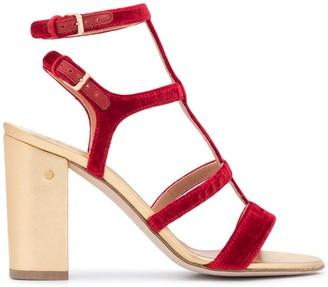 Laurence Dacade Leonie velvet sandals