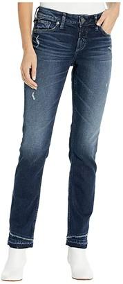 Silver Jeans Co. Suki Mid-Rise Slim Leg Curvy Fit Jeans in Indigo L93342SCP362