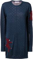 Sonia Rykiel panther detail sweater dress