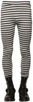 Cheap Monday Striped Cotton Jersey Leggings