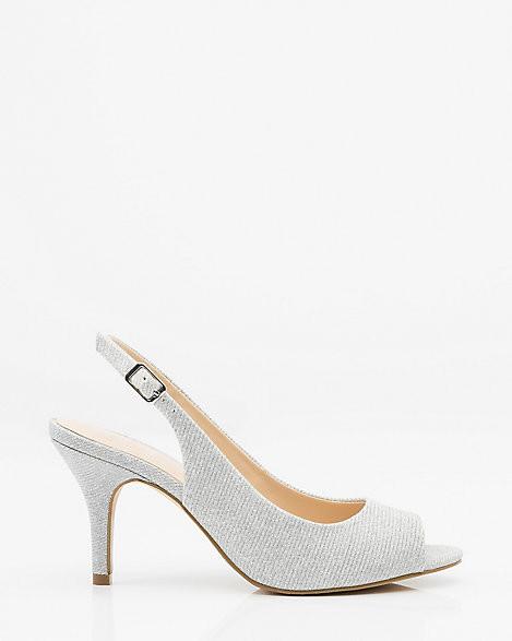 Le Château Glitter Slingback Sandal