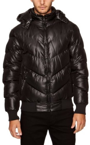 French Connection Men's Intense Wadded Puffer Jacket