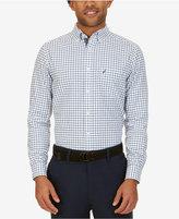 Nautica Men's Classic-Fit Tattersall Cotton Long-Sleeve Shirt