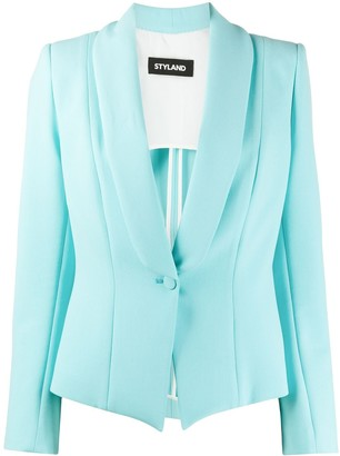 Styland Single-Breasted Tailored Blazer
