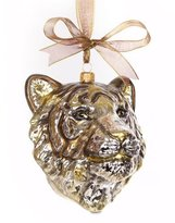 Jay Strongwater Gilded Tiger Head Ornament