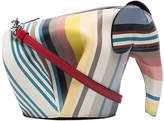 Loewe Stripe Elephant leather shoulder bag