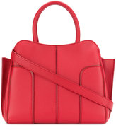 Tod's panelled tote