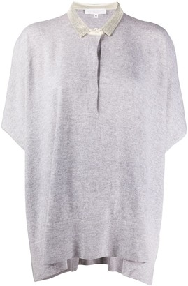 Fabiana Filippi Mad batwing polo shirt