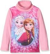 Disney Girl's Frozen Long Sleeve Roll Neck T-Shirt