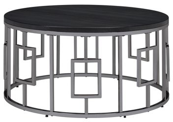 bfbaa7a208 Round Metal Coffee Table - ShopStyle