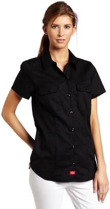 Dickies Women's Short Sleeve Work Shirt
