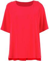 Alberto Biani Coral blouse