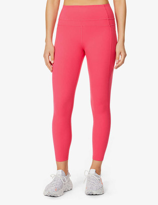 Lorna Jane Stomach Support 7/8 high-rise stretch-woven leggings