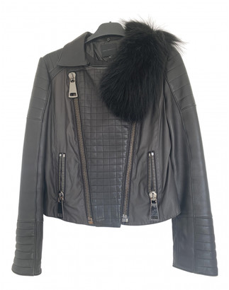Hotel Particulier Black Leather Leather jackets