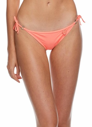 Body Glove Women's Smoothies Brasilia Tie Side Cheeky Bikini Bottom Swimsuit
