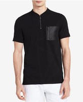 Calvin Klein Men's Zip-Collar Polo Shirt