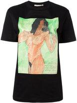 Christopher Kane body print unisex T-shirt - women - Cotton - XS