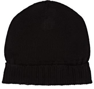 Barneys New York MEN'S WOOL FISHERMAN'S CAP - BLACK
