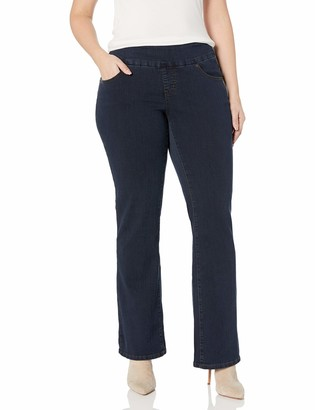 Jag Jeans Women's Plus-Size Paley Pull On Bootcut Jean