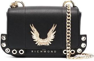 John Richmond Valdez leather cross body bag