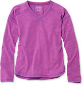 L.L. Bean Girls Trail Tee, Long-Sleeve