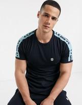 Le Breve lounge t-shirts-Navy