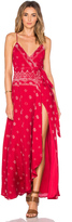 The Jetset Diaries Fuego Maxi Dress