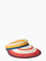 Kate Spade Berber stripe visor