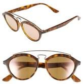 Ray-Ban 'Highstreet' 50mm Brow Bar Sunglasses