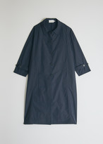Mijeong Park Women's Light Weight Belted Trench Jacket in Navy, Size XS/Small