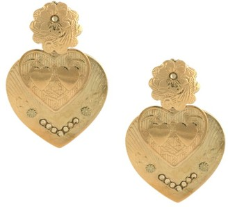 Gas Bijoux Bo Love Pendant Drop Earrings