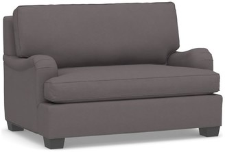 Pottery Barn PB English Arm Upholstered Twin Sleeper Sofa with Memory Foam Mattress
