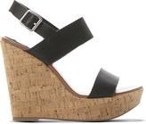 Steve Madden Esme leather wedge sandals